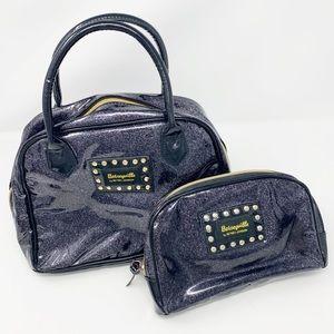 Betseyville Betsey Johnson Glitter Makeup Bag Dup
